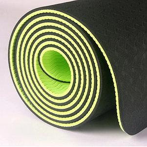 Коврик для фитнеса черный (Габариты: 170х60х0,6 см), фото 2