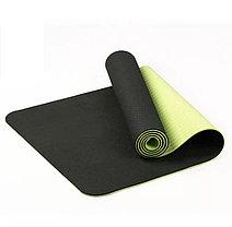 Коврик для фитнеса черный (Габариты: 170х60х0,6 см), фото 3