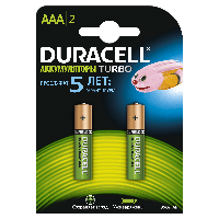 Батарейка аккумуляторная Duracell AAA HR03 900mAh