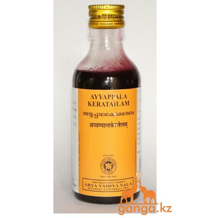 Айяпала кератайлам масло для лечения псориаза (Ayyappala Keratailam  ARYA VAIDYA SALA), 200 мл
