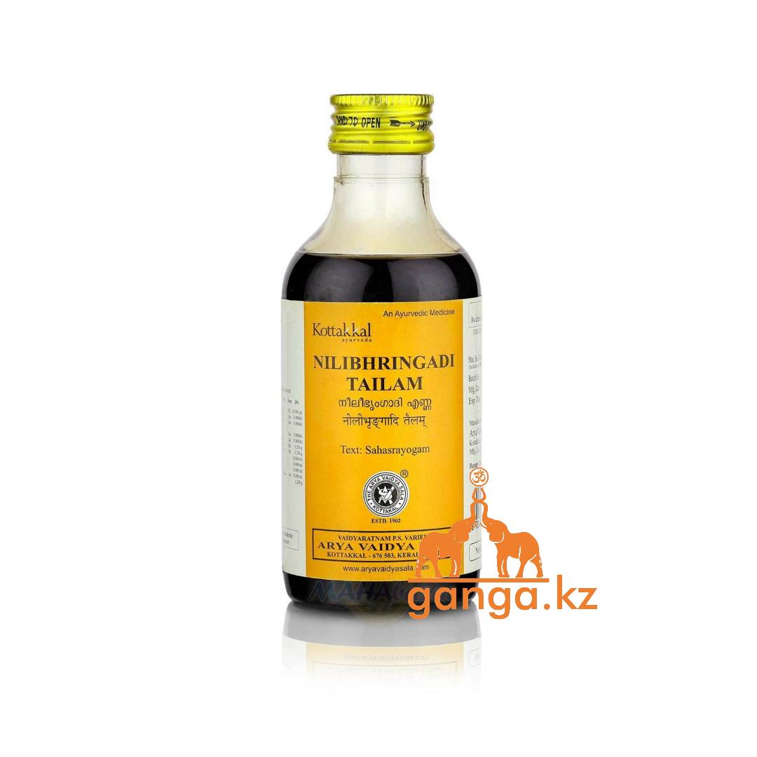 Нилибхрингади Тайлам масло против выпадения волос (Nilibhrngadi tailam  ARYA VAIDYA SALA), 200 мл