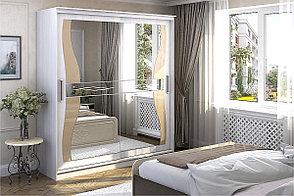 Шкаф для одежды 2Д Олимп 1, Анкор Анкор светлый, Стендмебель (Россия), фото 2