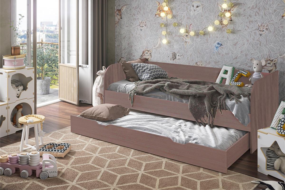 Кровать трансформер Балли, Шимо темный Шимо темный, Стендмебель (Россия)