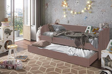 Кровать трансформер Балли, Шимо темный Шимо темный, Стендмебель (Россия), фото 2