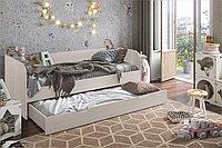Кровать односпальная Балли, Анкор Анкор светлый, Стендмебель (Россия)