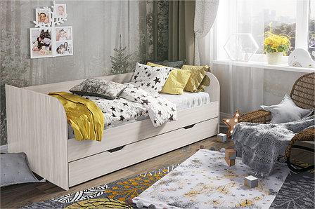 Кровать односпальная Балли, Анкор Анкор светлый, Стендмебель (Россия), фото 2