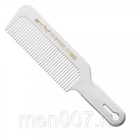 Расческа Andis для стрижки под машинку с мягкими гнущимися зубцами (белая)