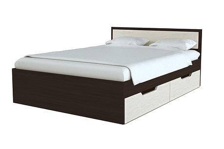 Кровать двуспальная Гармония, Анкор Анкор светлый, Стендмебель (Россия), фото 2