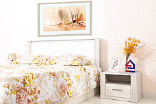 Кровать двуспальная Гамма 20, Сандал, СВ Мебель (Россия), фото 3
