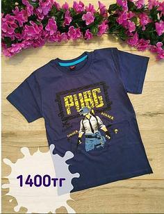 Футболка Pubg, цвет темно-синий