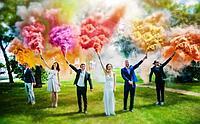 Цветной дым Color Smoke, фото 1