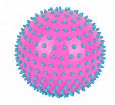 Массажер ежик, массажный мячик для фитнеса 12 см (цвет оранжевый,фиолетовый,зелёный), фото 2