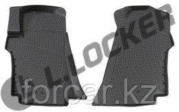 3D Коврики в салон Hyundai Starex (08-12) передние (полимерные)