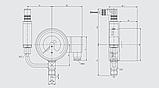 Монитор плотности газа Со подключаемым преобразователем Модель GDM-100-TA, фото 2