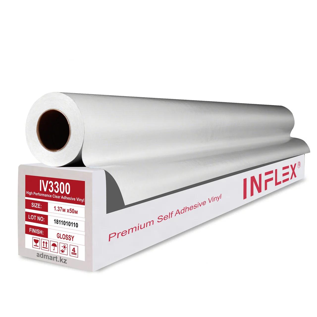 Глянцевая полимерная пленка INFLEX PREMIUM (140гр) 1,37мХ50м