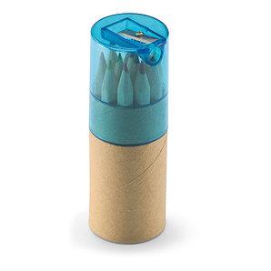 Цветные карандаши в тюбике.