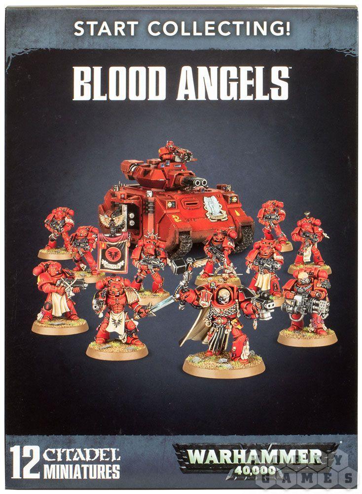 Warhammer 40000: START COLLECTING! BLOOD ANGELS