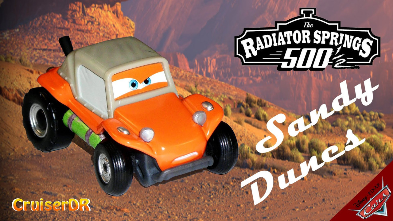 Cars / Тачки - Radiator springs 500 1/2 - Sandy Dunes