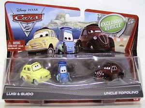 Cars / Тачки - Гуидо, Луиджи и дядюшка Тополино