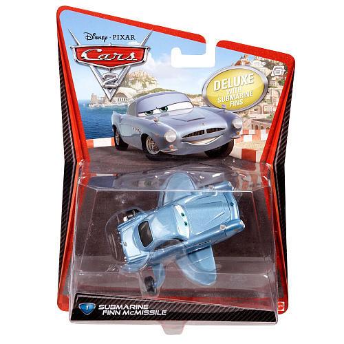 Cars / Тачки - Финн МакМиссл подводная лодка