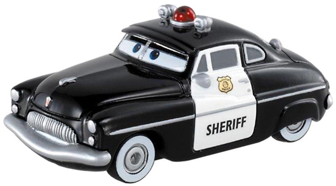 """Cars / Тачки """"Radiator Springs"""" Металлическая модель Шериф"""