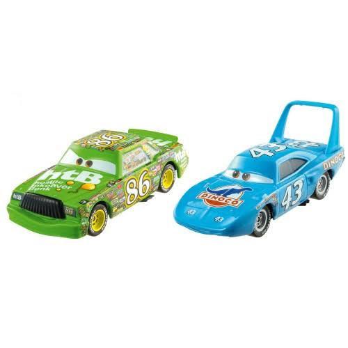 """Cars / Тачки """"Диноко 400"""" Набор машинок Ченг «Кинг» Тюнинг №43 и Чико Хикс №86"""