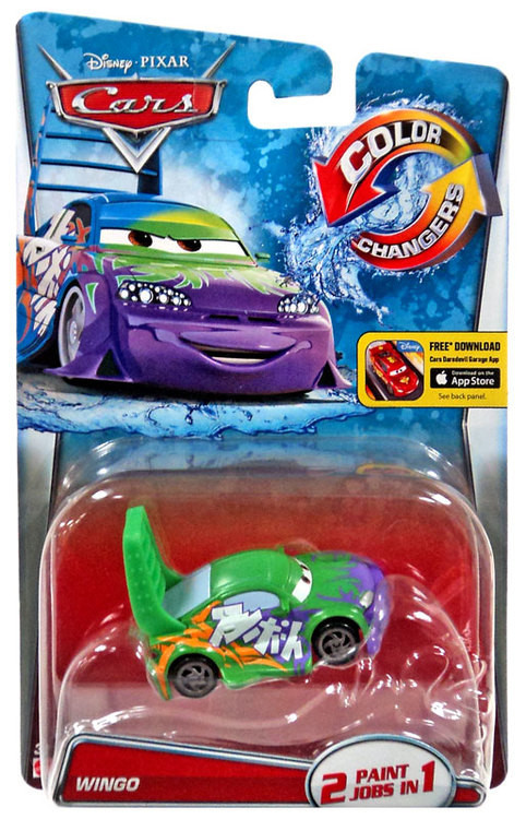 """Cars / Тачки """"Меняющие цвет"""" Wingo"""