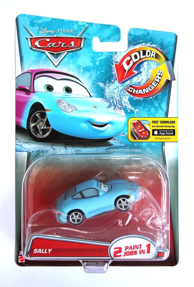 "Cars / Тачки ""Меняющие цвет"" Салли"