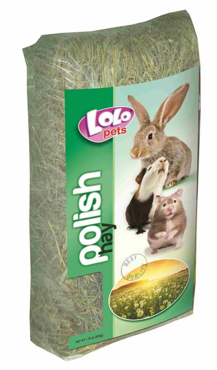 Сено для грызунов, Lolo pets - 800 гр