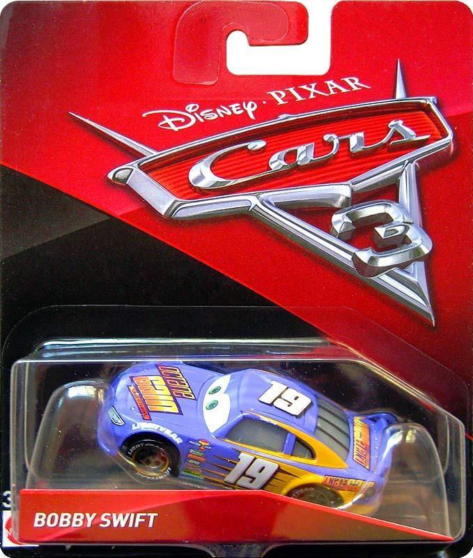"Cars / Тачки ""Тачки 3"" Бобби Свифт №19, серия DXV29"