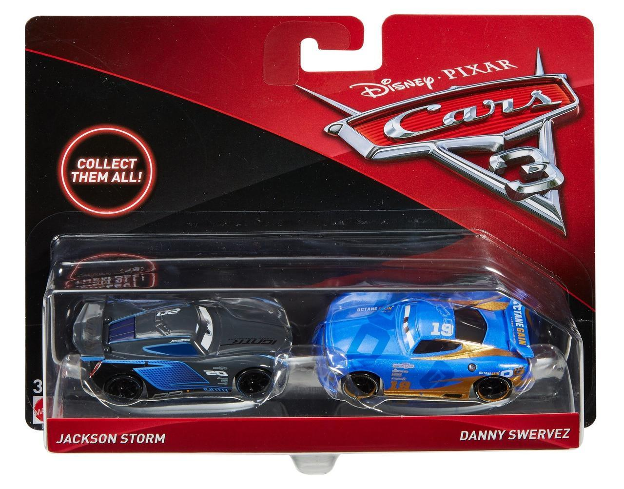 "Cars / Тачки ""Тачки 3"" Джексон Шторм и Дэнни Скрипшин"