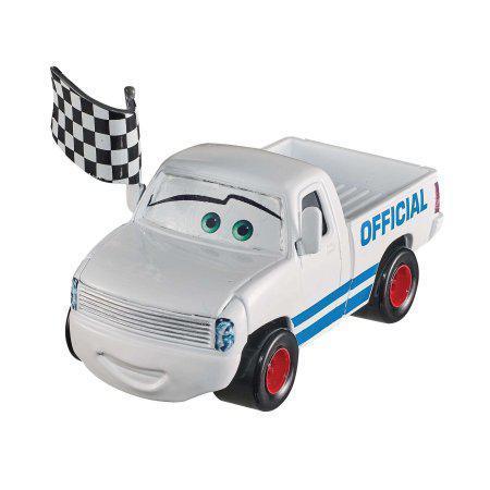 "Cars / Тачки ""Тачки 3"" Крис Ревстовски с флагом"