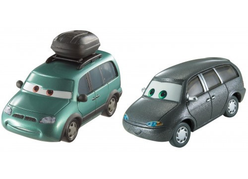 """Cars / Тачки """"Тачки 3"""" Минни и Вэн"""