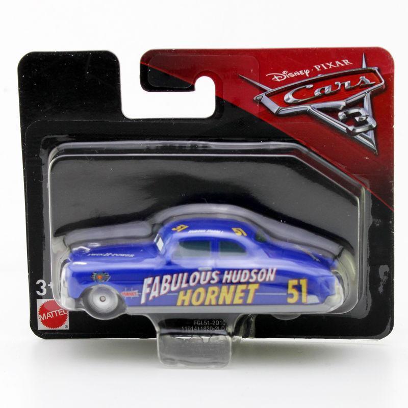 """Cars / Тачки """"Тачки 3"""" Пластиковая модель Стремительный Хадсон Хорнет, 8 см."""