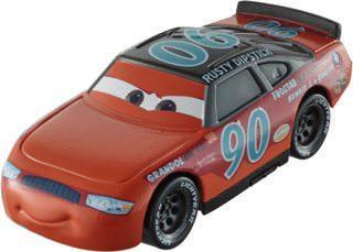 """Cars / Тачки """"Томасвилльские легенды гонок"""" Пончи Вайпаут №90 в цветах Rusty Dipstick"""