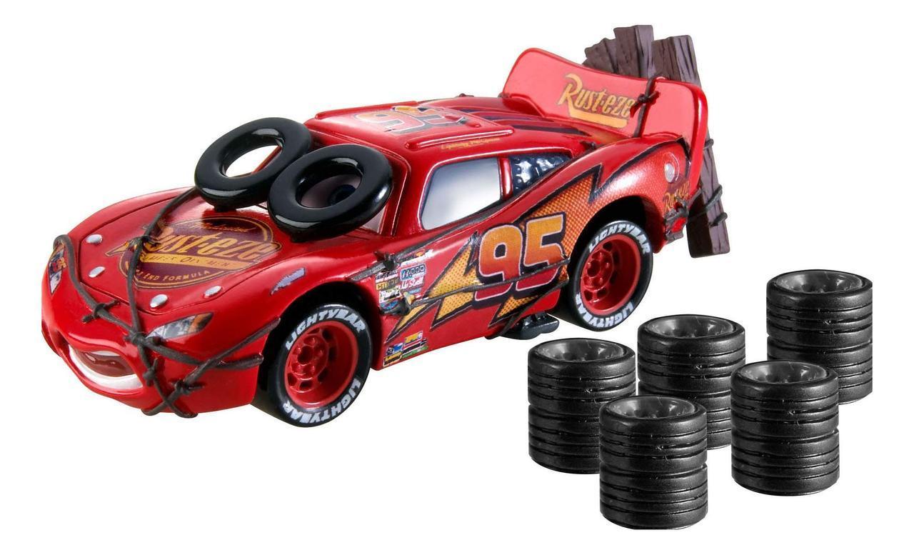 "Cars / Тачки Коллекционный набор ""Летающий Молния Маккуин"" (Daredevil Garage)"
