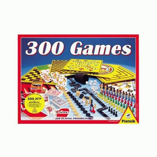 """Games Piatnik Настольная игра """"300 игр + шахматы"""""""