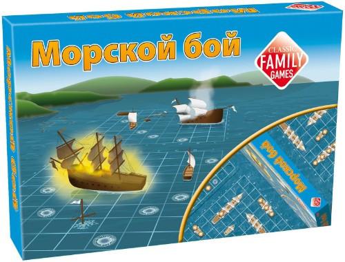 """Games Tactic Настольная игра """"Морской бой"""""""
