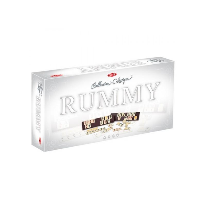 """Games Tactic Настольная игра """"Румми"""" - Подарочное издание"""