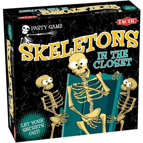 """Games Tactic Настольная игра """"Скелеты в шкафу"""""""