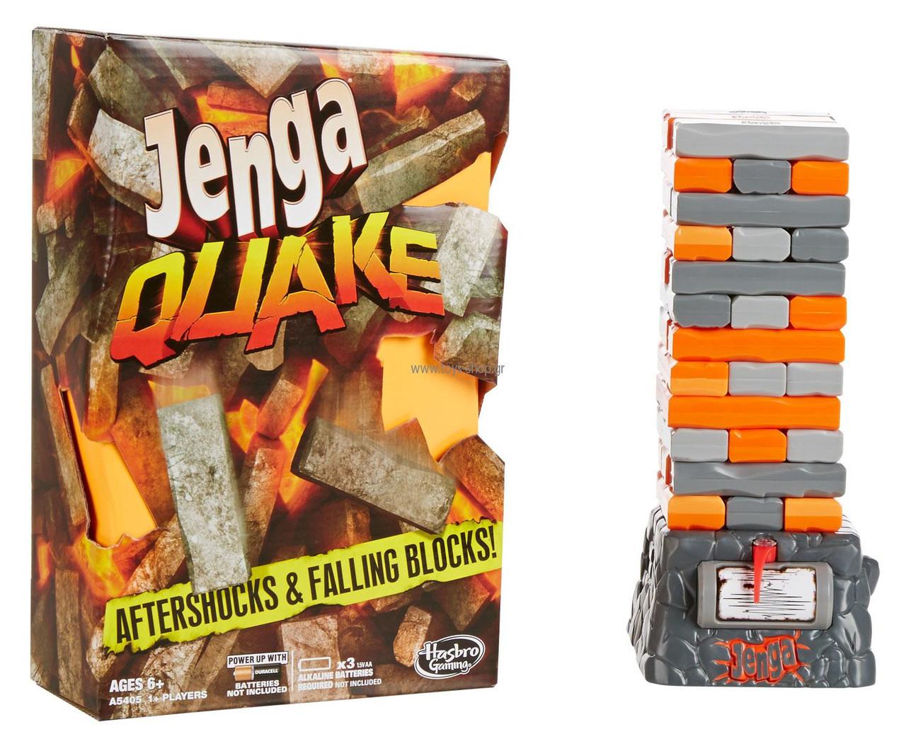 "Hasbro games Настольная игра ""Дженга: Квейк"" (Jenga Quake)"