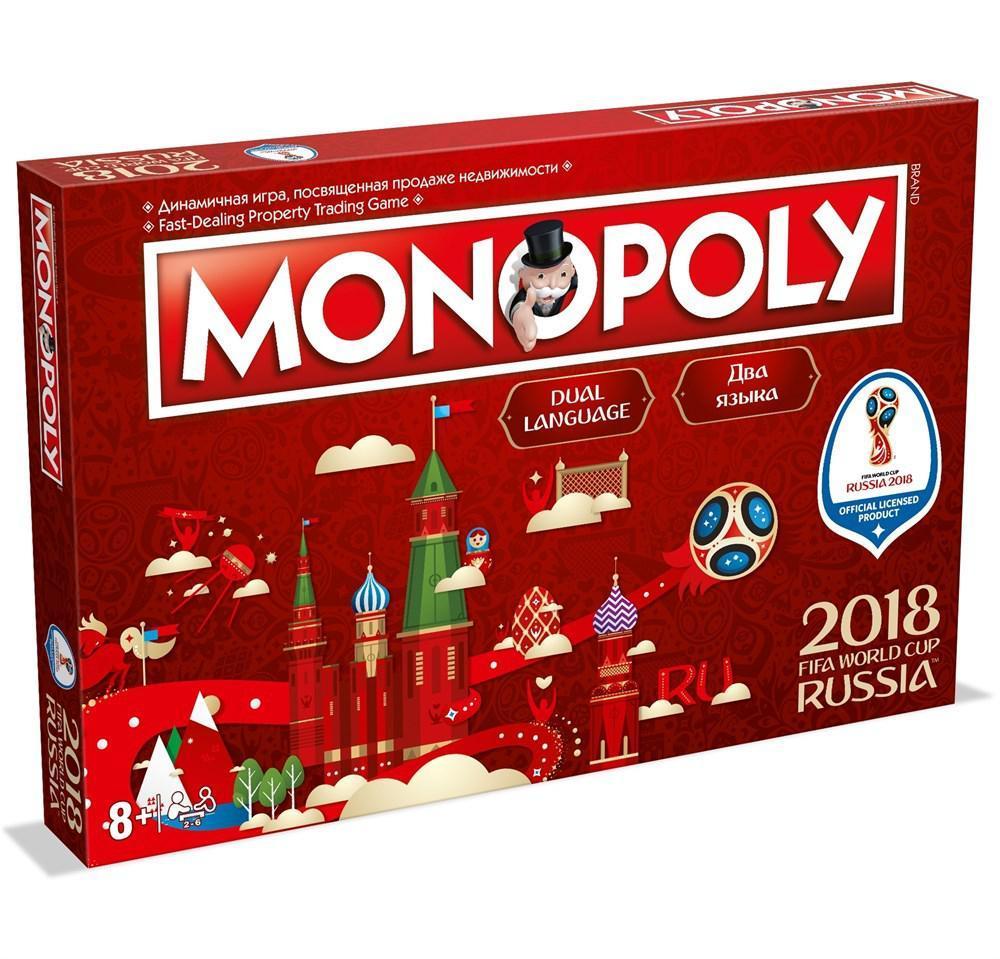 "Hasbro Настольная игра ""Монополия: 2018 FIFA World Cup. Russia"""