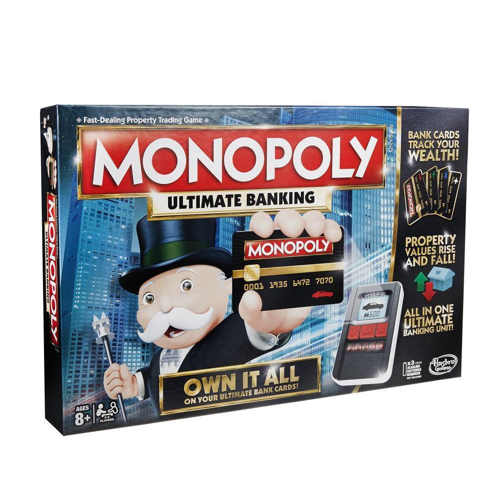 """Hasbro Настольная игра """"Монополия: Банк без границ"""" (с банковскими картами)"""