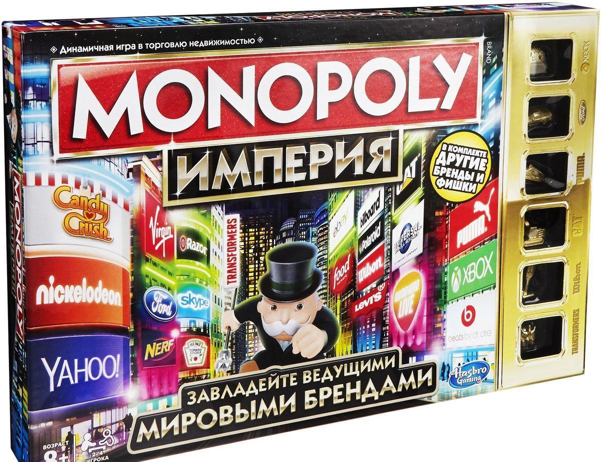 """Hasbro Настольная игра """"Монополия: Империя"""", 2016"""