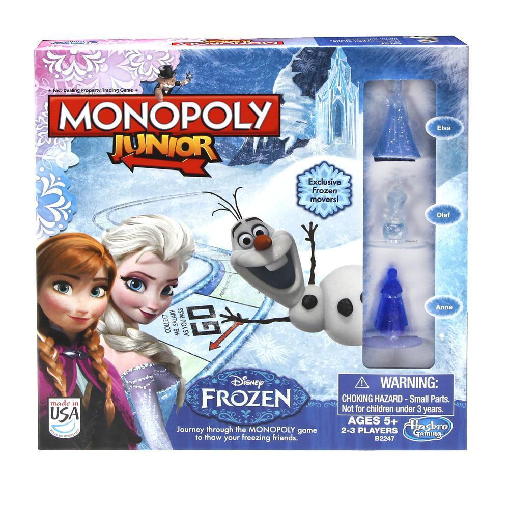 """Hasbro Настольная игра """"Монополия: Холодное сердце"""""""