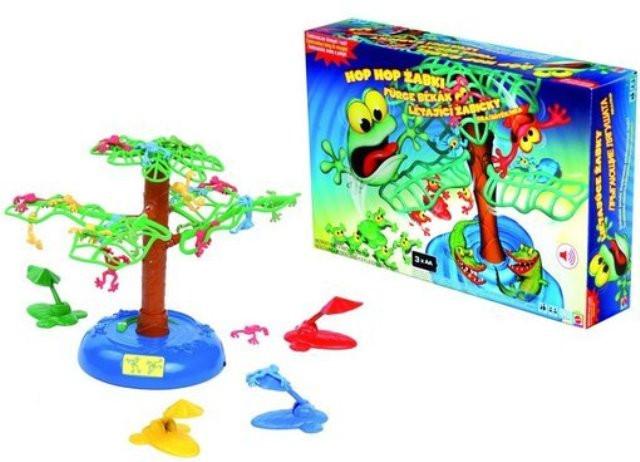"""Mattel games Настольная игра """"Игра летающих лягушек"""""""