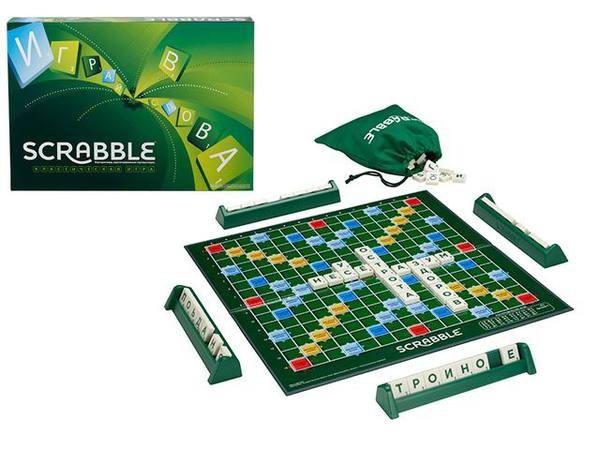 """Mattel games Настольная игра """"Скрэббл"""", Scrabble"""