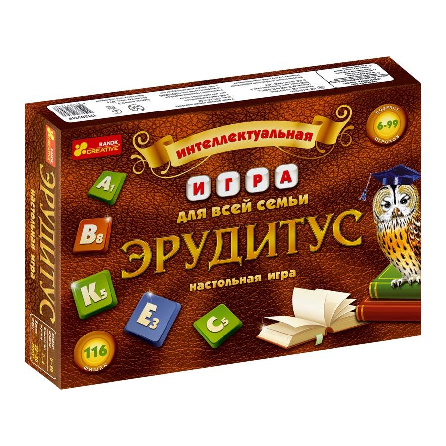 "Ranok 12120031Р Настольная игра ""Эрудитус"""