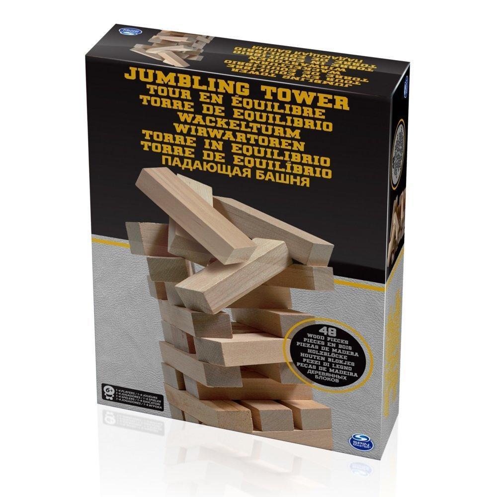 """Spin Master Настольная игра """"Дженга"""" - Падающая башня"""