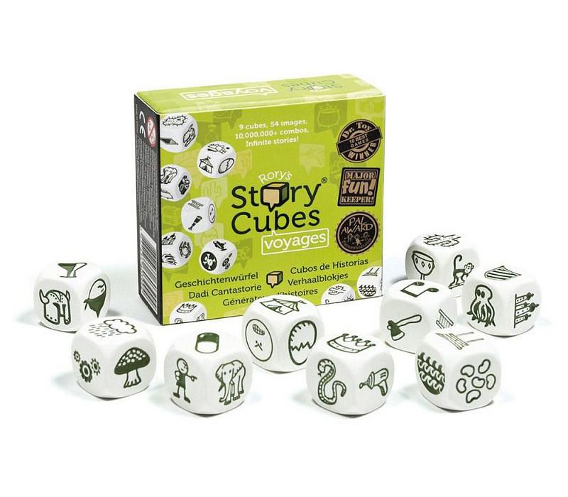 """Story Cubes Настольная игра """"Кубики историй"""" - Путешествия"""